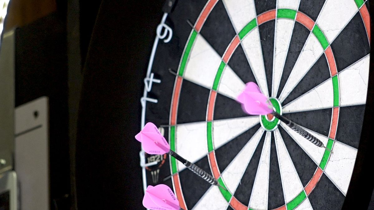 Local dart tournament draws international crowd