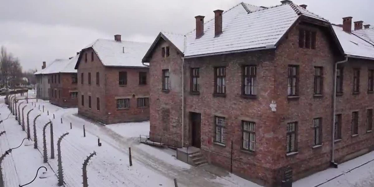 Auschwitz survivor shares memories 75 years after liberation