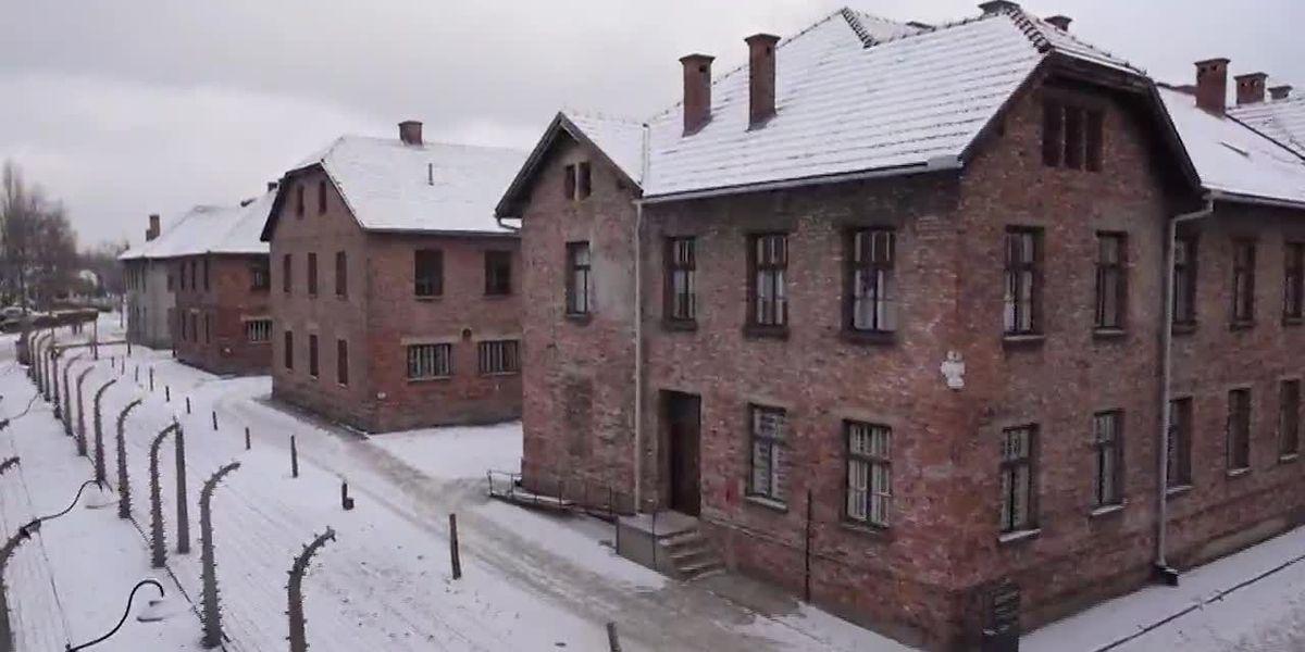 Auschwitz survivor shares memories 75 years after liberation