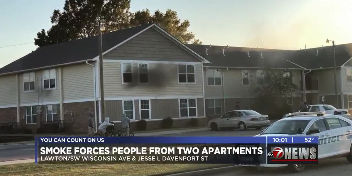 Kitchen fire forces people from two apartments