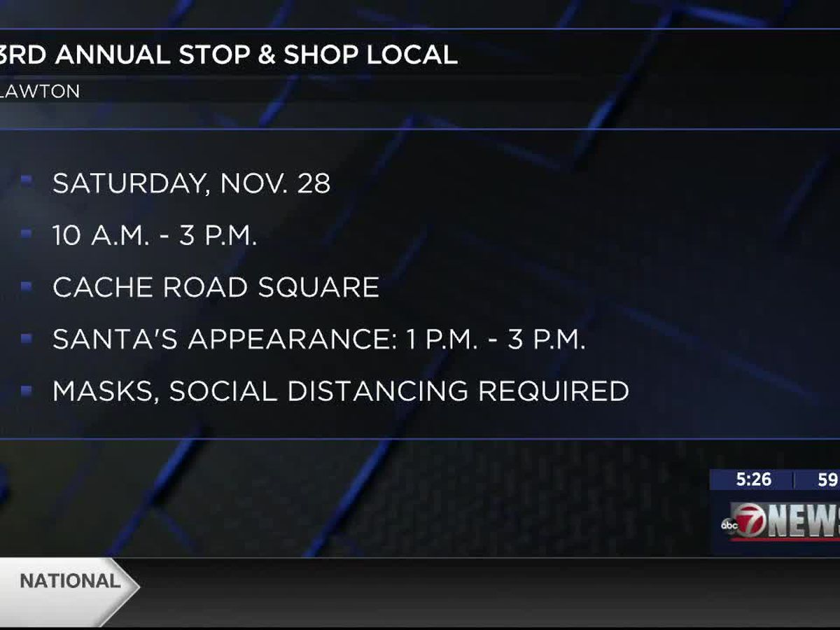 Lawton holds annual Stop and Shop Local event