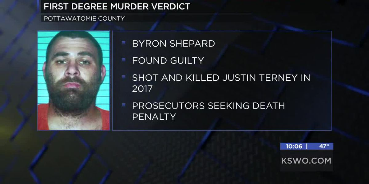Man found guilty of killing Tecumseh police officer in 2017