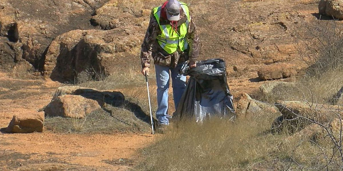 Friends of the Wichitas participate in nationwide cleanup effort
