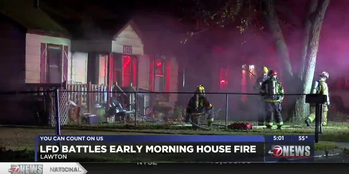 Lawton Fire Department investigating Thursday morning fire