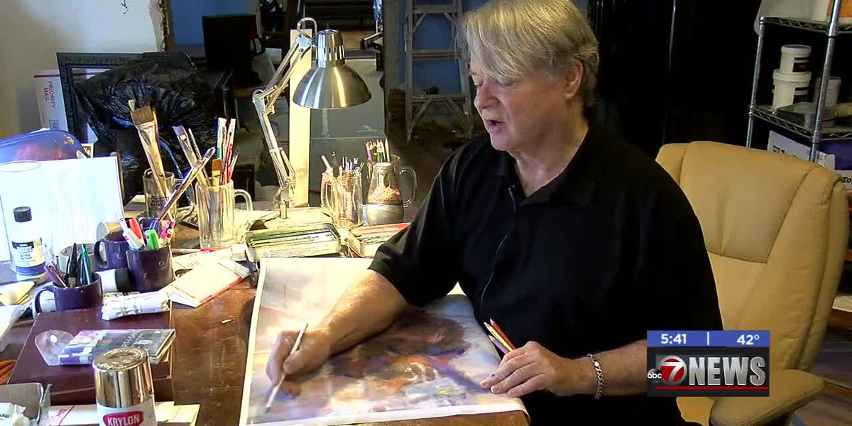 Artist born and raised in Lawton returns home