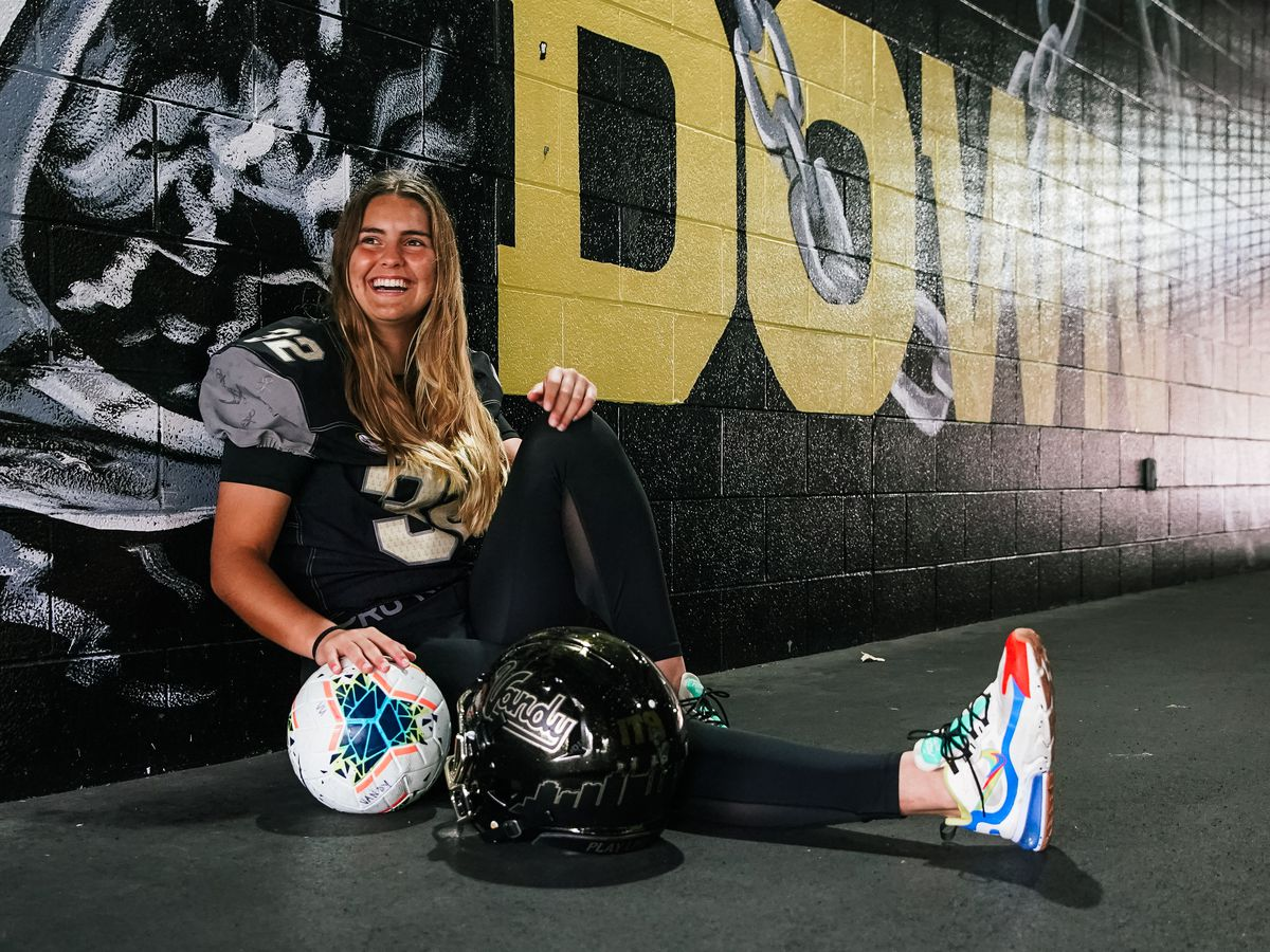 Female soccer player poised to play for Vandy's football team