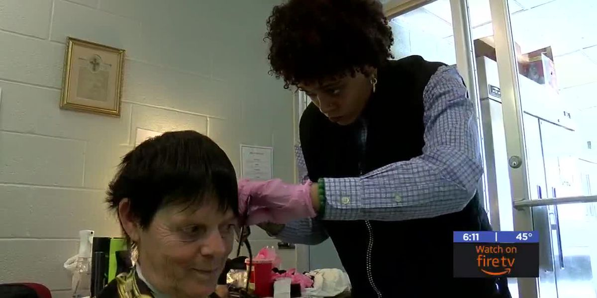 Lawton woman gives homeless free haircuts