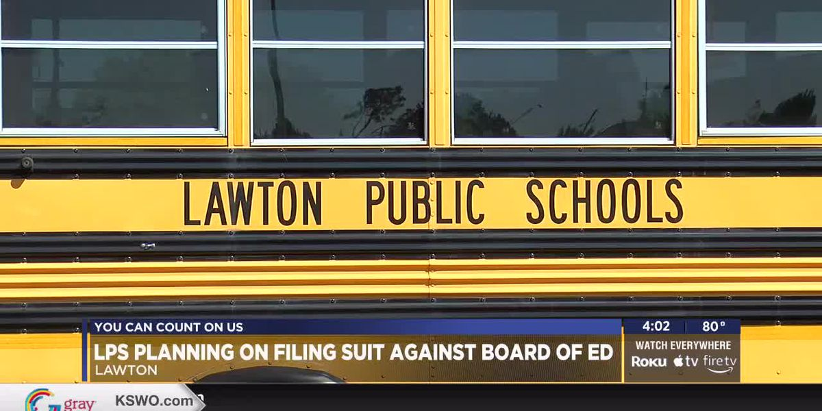 Lawton Public Schools planning lawsuit against the State Board of Education