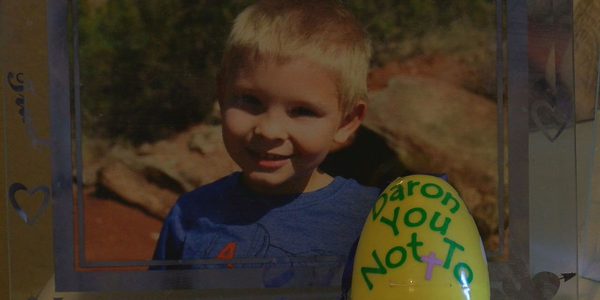 Easter eggs memorializing child destroyed at Altus park