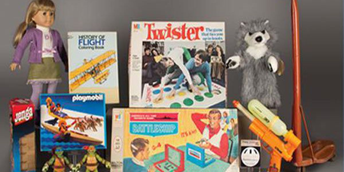 Spinning top, puppet among 12 Toy Hall of Fame finalists