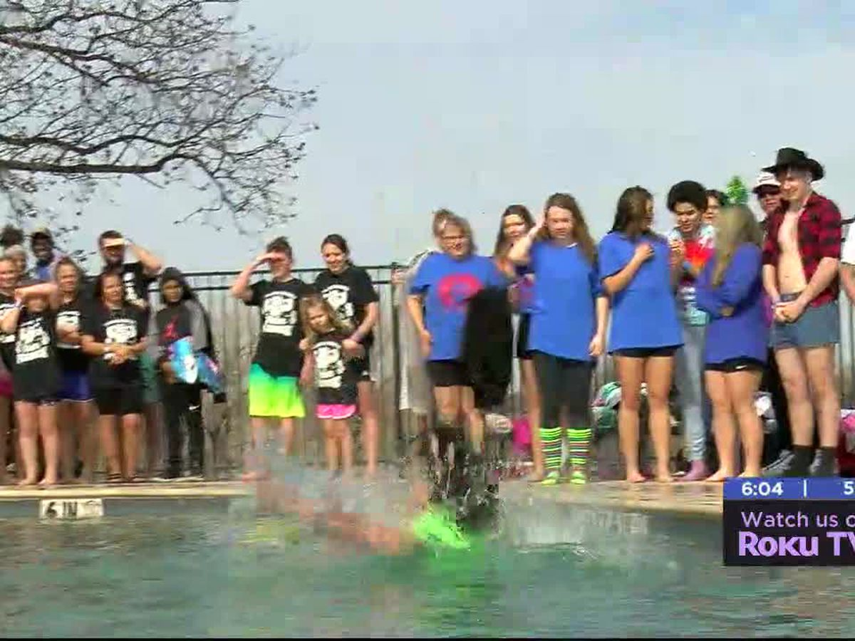 Annual Polar Plunge raises money for Special Olympics Oklahoma