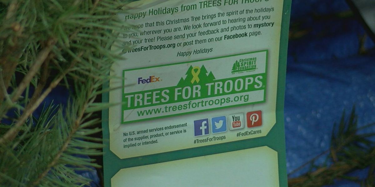 Trees for Troops donates hundreds of Christmas trees to Fort Sill