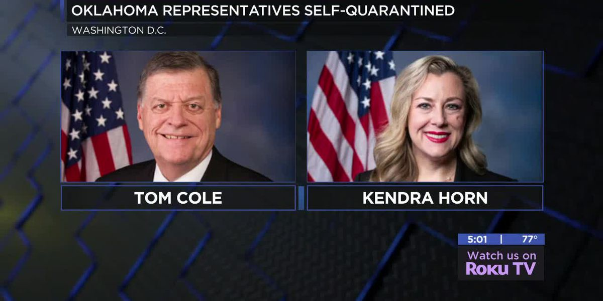 Tom Cole, Kendra Horn in self-quarantine after contact with positive coronavirus cases