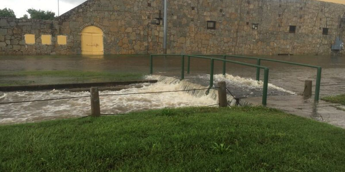 Turn around, don't drown: Flooding reported around Lawton