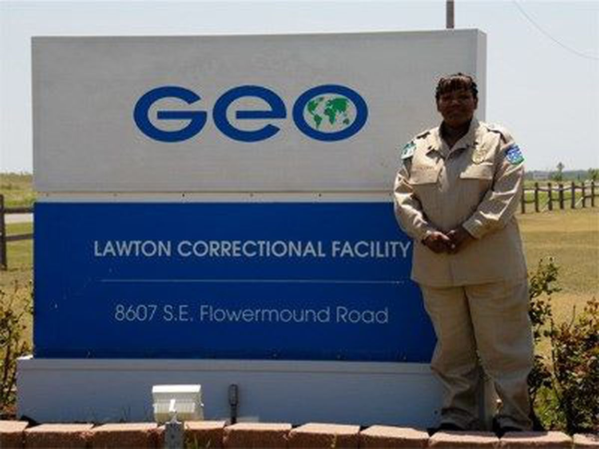 Lawton correctional facility employee of the year