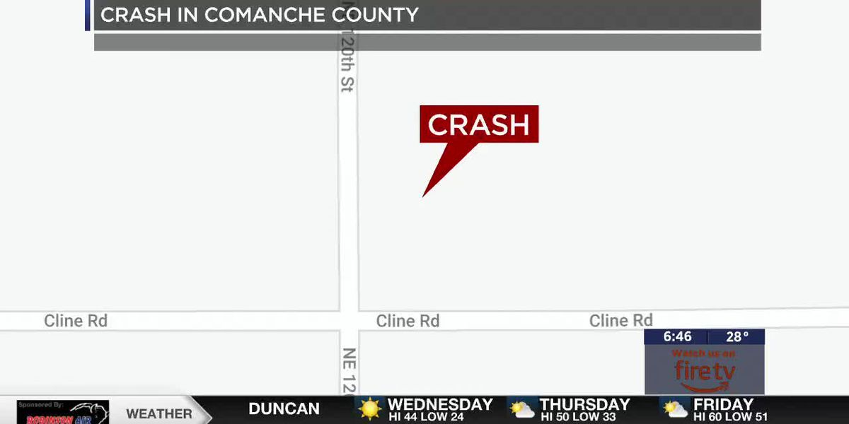Comanche County crash sends four to hospital