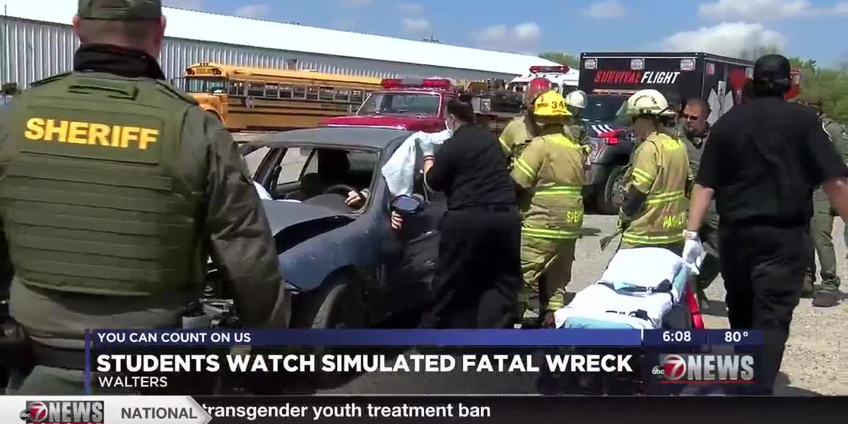 Walters students learn about dangers of drinking and driving