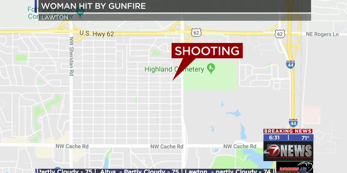 Woman injured after late night shooting in Lawton