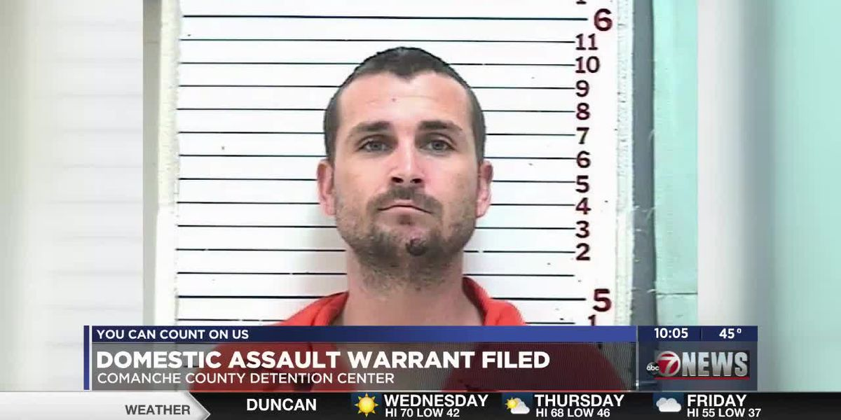 Arrest warrant filed in Lawton for man accused of assault and battery