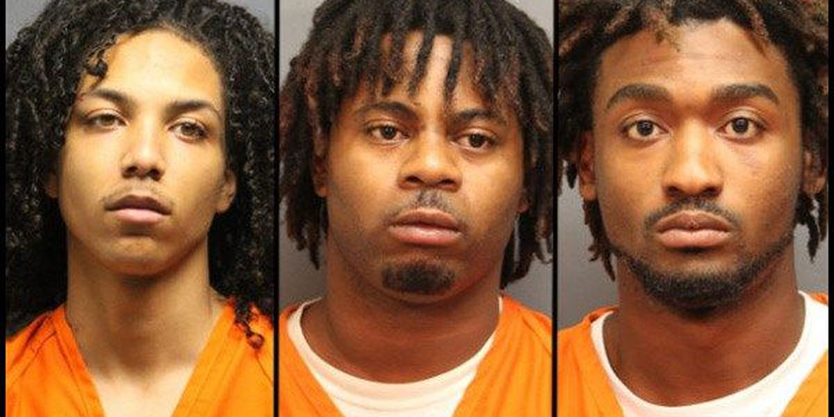 3 arrested in home invasion