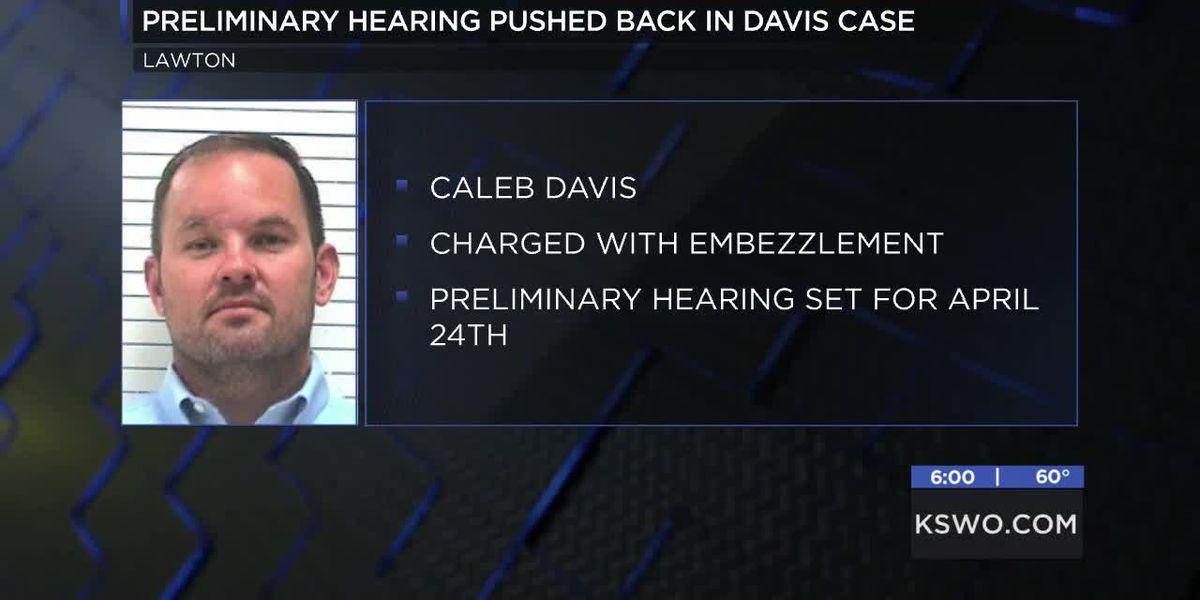 Preliminary hearing for Caleb Davis pushed back