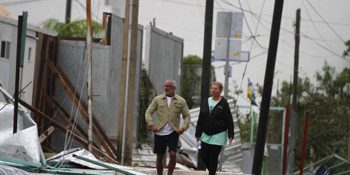Hurricane warning for New Orleans as Zeta swirls over Mexico