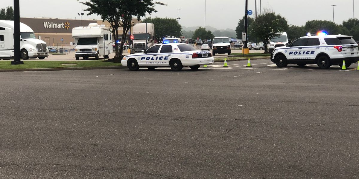 2 employees killed, officer wounded in shooting at Southaven, Mississippi Walmart; suspect shot, in custody