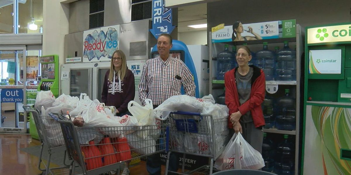 Supermarket Sweep benefits Lawton Food Bank