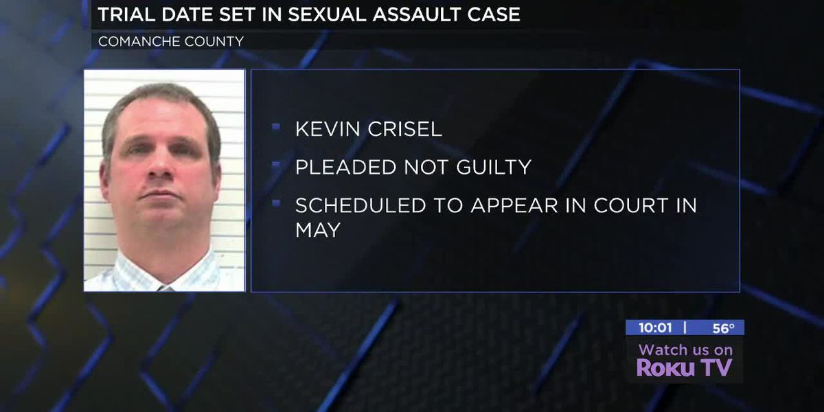 Trial date set for Lawton man charged with sexual assault