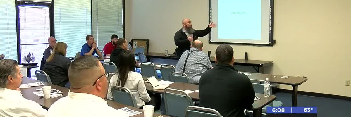 Veterans meet with employers for hiring event
