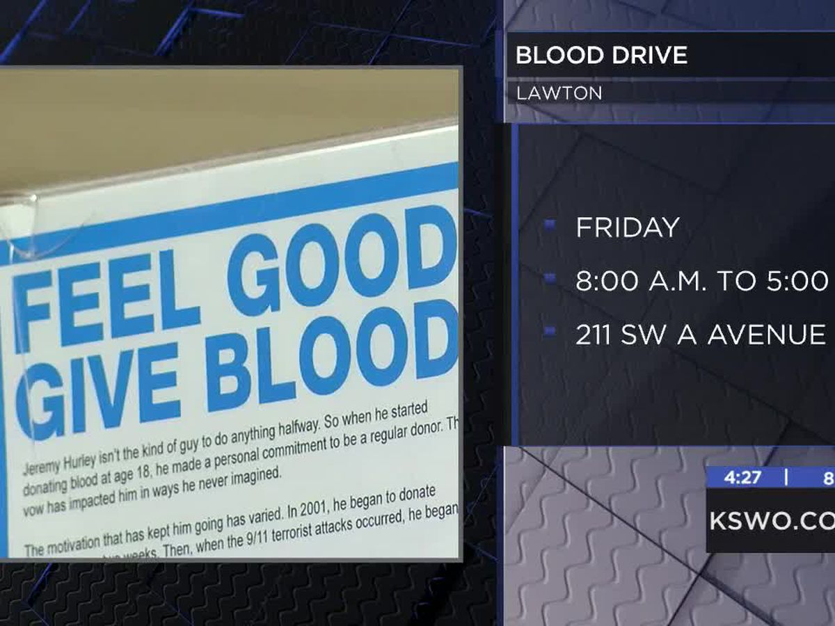Oklahoma Pork Council and Oklahoma Blood Institute team up for blood drive