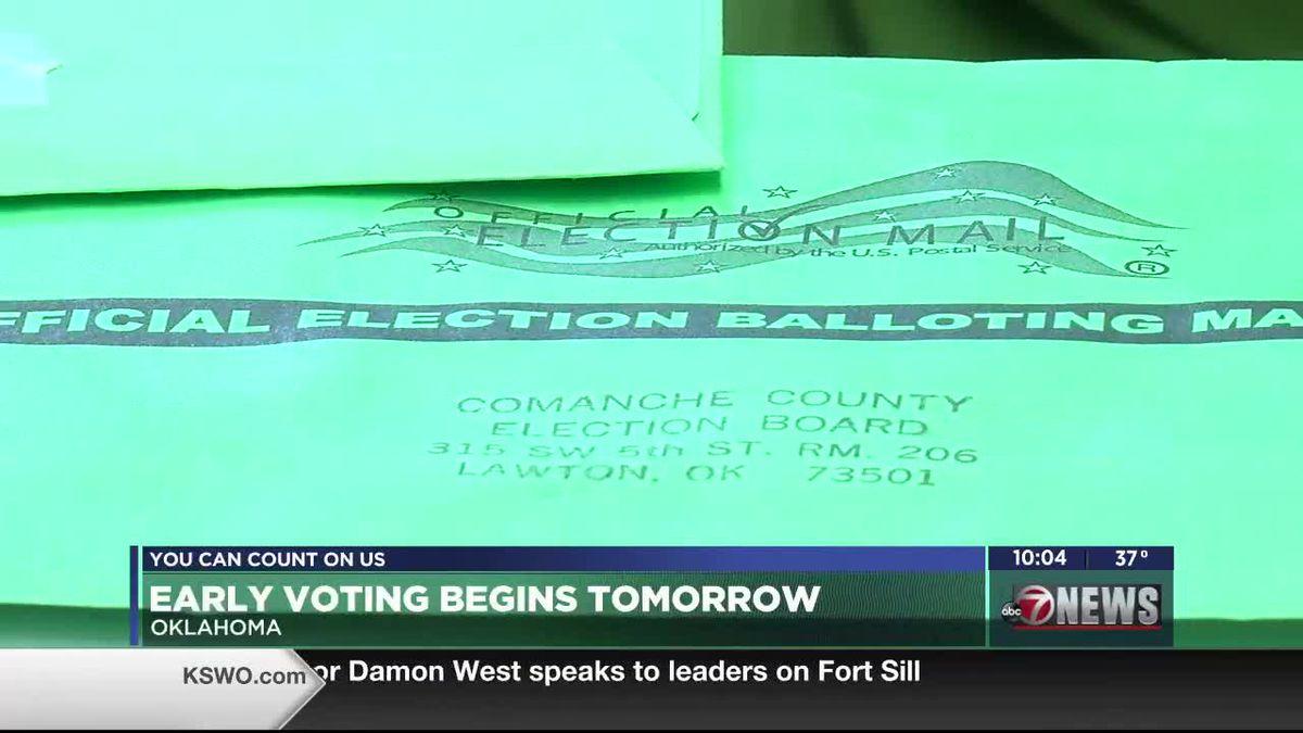 Early voting begins Thursday, Oct. 29 across Oklahoma