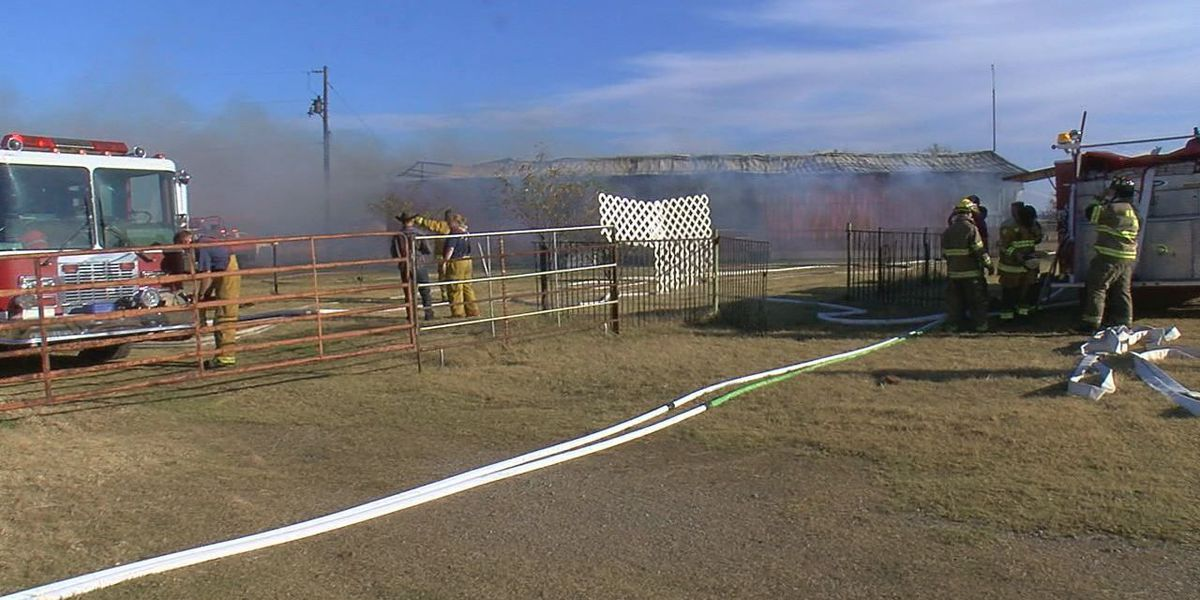 Comanche County home destroyed in fire