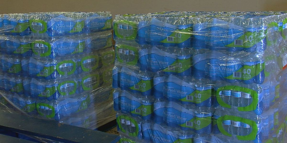 City of Frederick without water, donations available