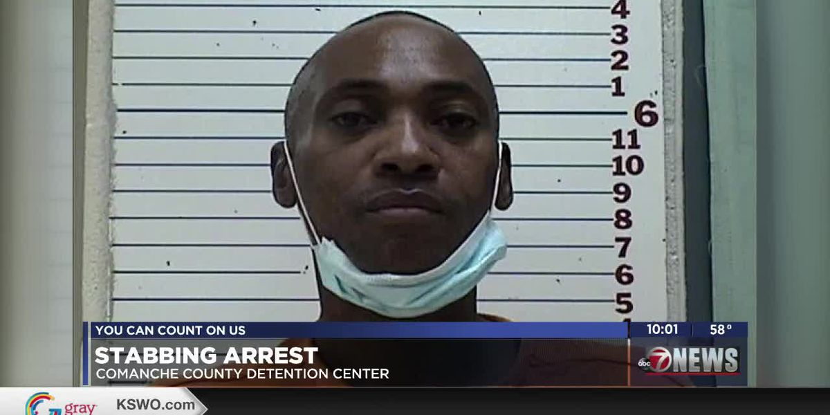 Lawton man arrested for the stabbing of his girlfriend