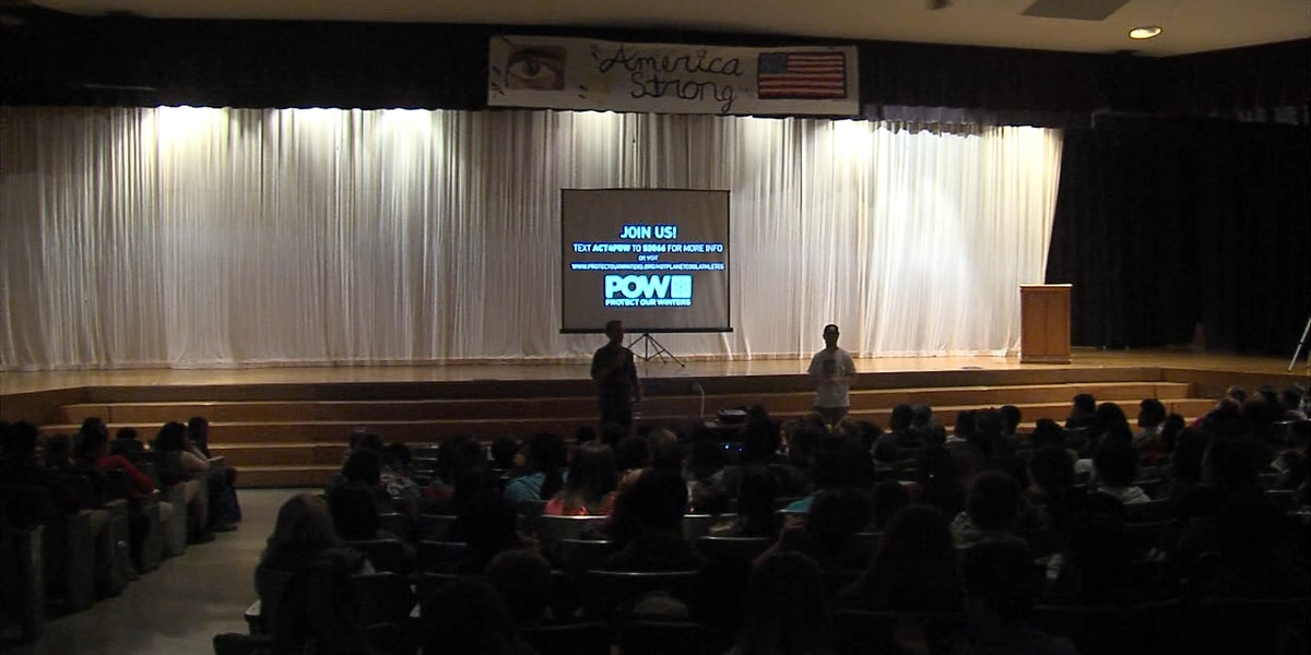 LPS holds guest assemblies to teach students the science behind climate change