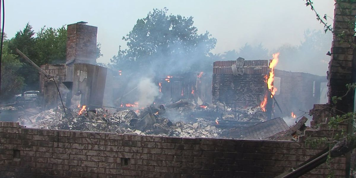 Home a total loss in Stephens County fire