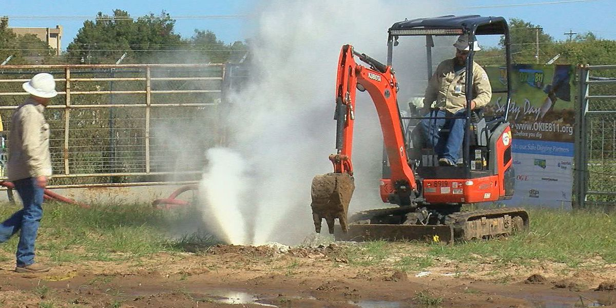 First responders, excavators train for ruptured gas lines