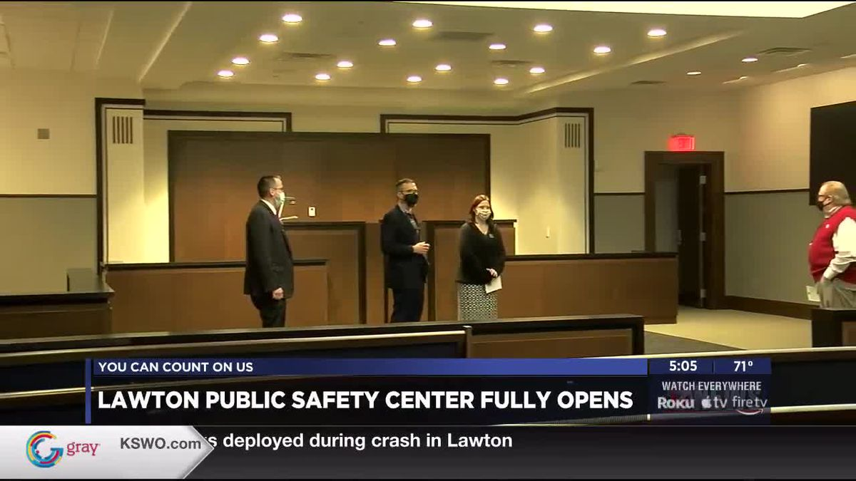 Public Safety Facility Hosts Grand Opening, Tours Friday