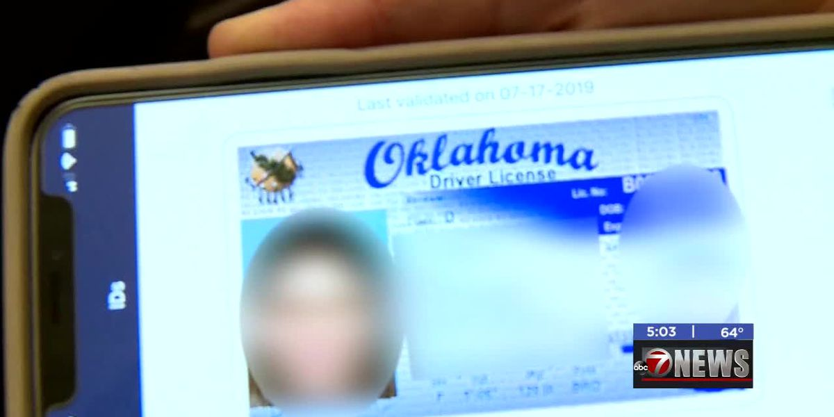 State of Oklahoma testing digital driver's licenses