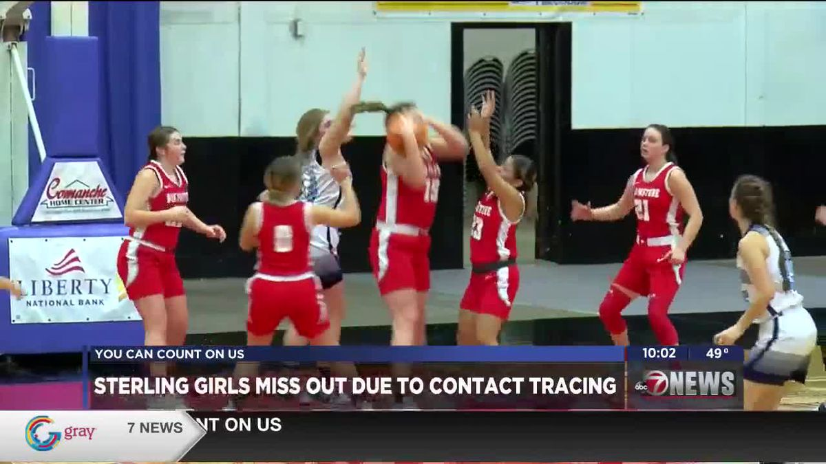 Sterling girls miss out on tournament due to contact tracing