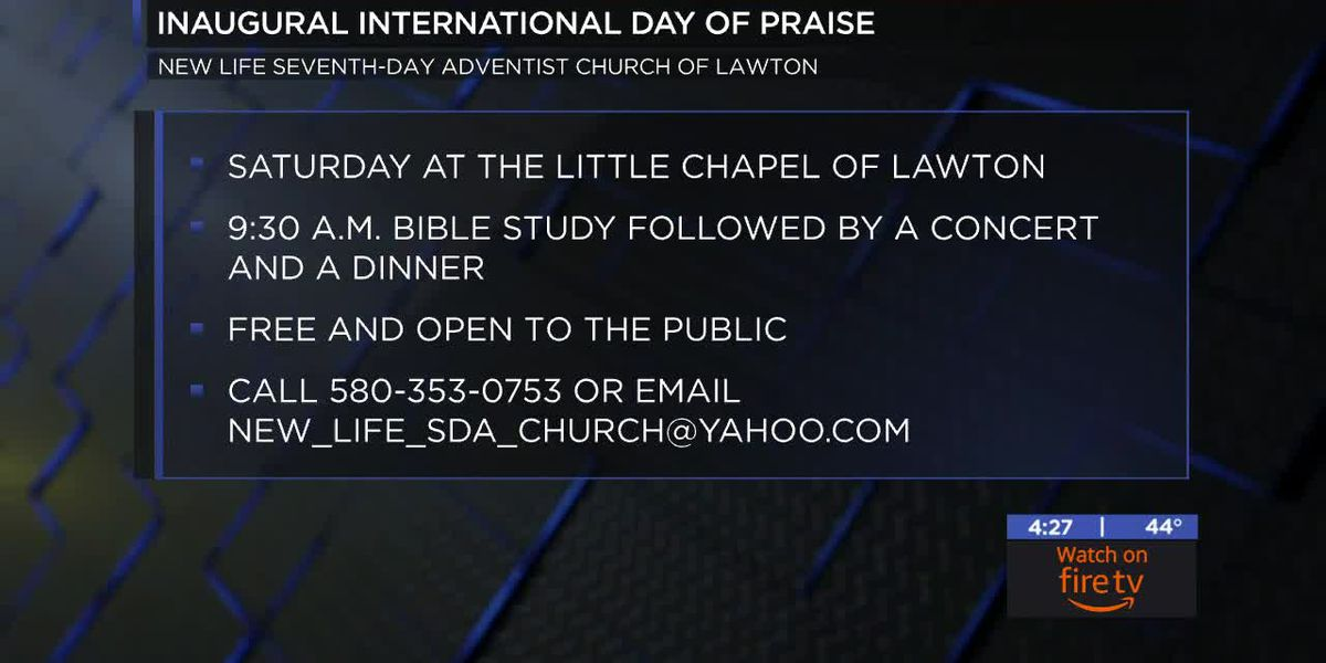 New Life Seventh-Day Adventist Church's hosting inaugural International Day of Praise event