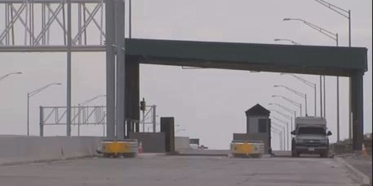 New toll plaza set to open Tuesday night