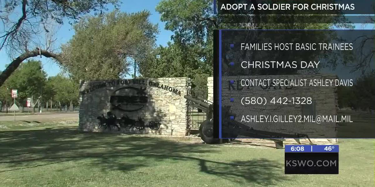 Fort Sill looking for families for 'Adopt A Soldier' program