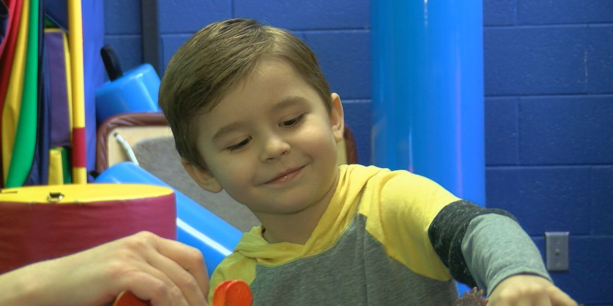 Pediatric patients receive therapy from Speech Language Pathologist at West Texas Rehab