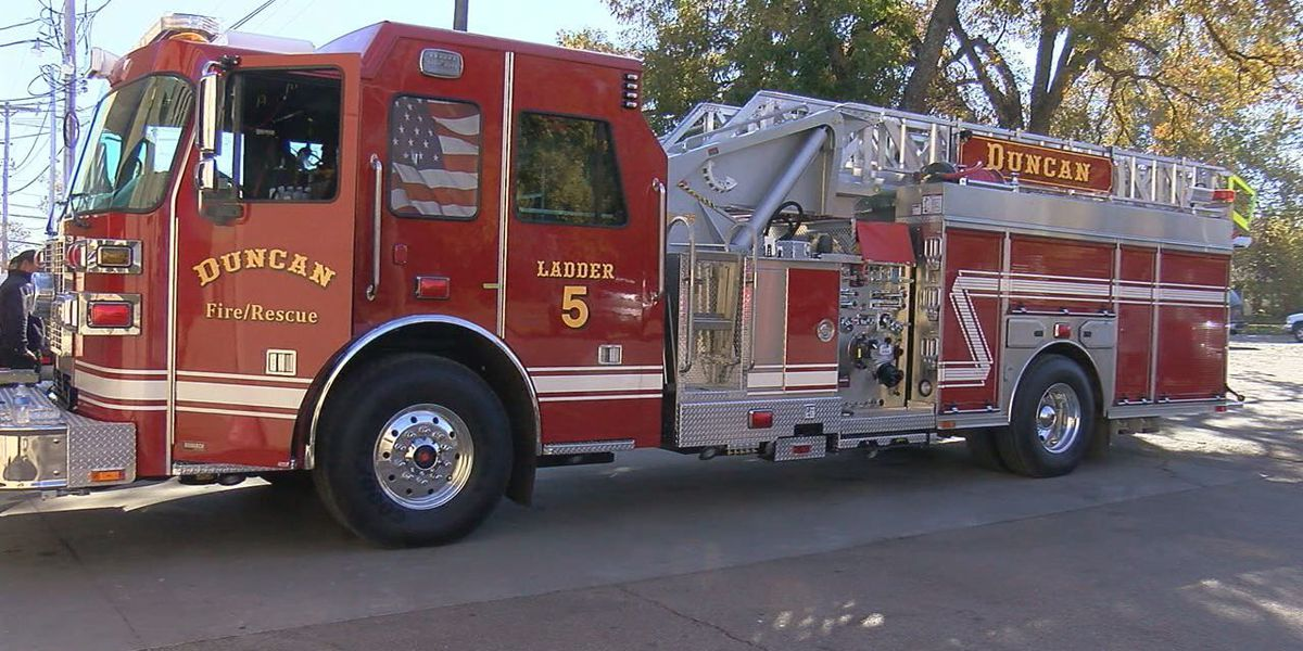 Duncan Fire Department purchases new fire truck