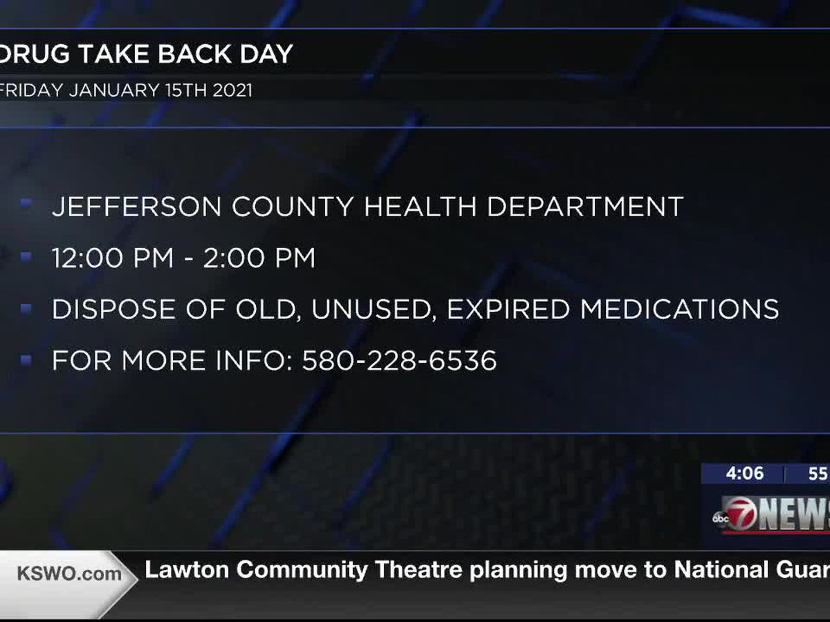 Waurika hosts Drug Take Back Day event