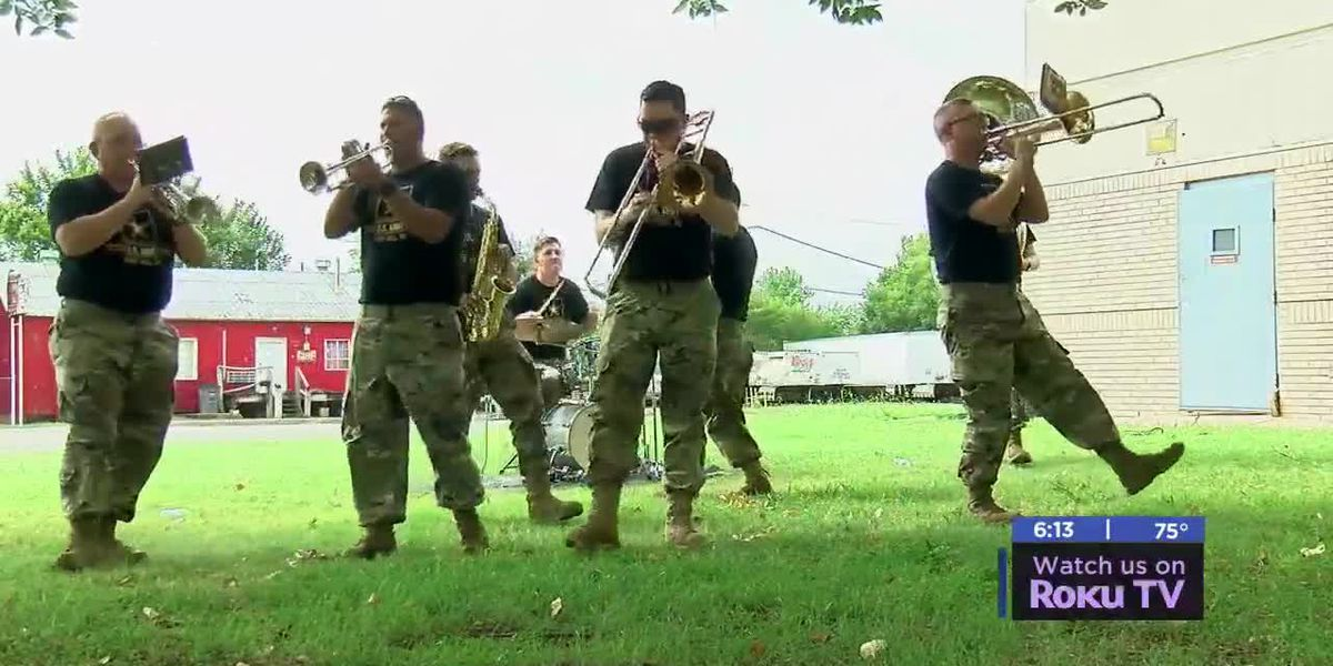 77th Army Brass Band performs at third annual Music in the Park