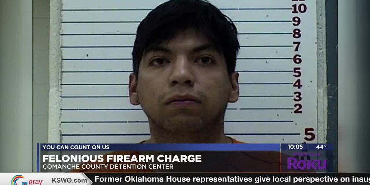Lawton man arrested on feloniously pointing a firearm charge