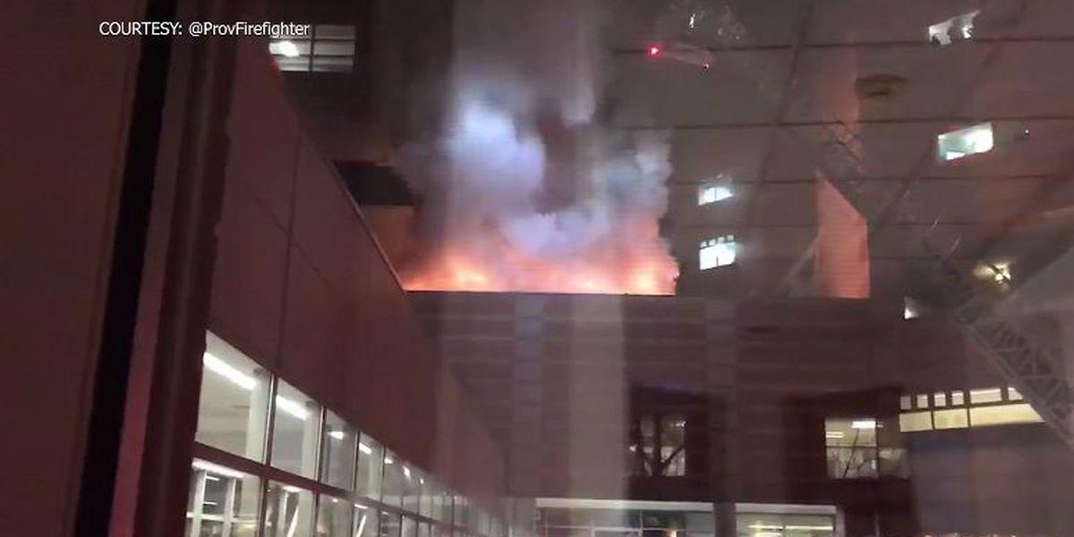 'Superhero' boy alerts RI firefighters to blaze at children's hospital